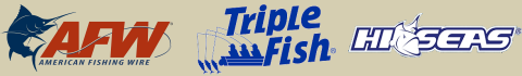 AFW, Triple Seas, Hi Seas Fishing Line